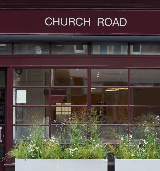 Church Road exterior by Polly Webster