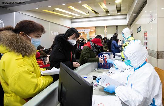 coronavirus wuhan medic staff
