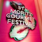 St Moritz Gourmet Festival Sign