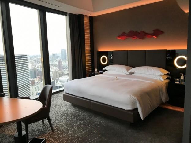 Conrad Osaka room shot