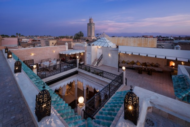 Riad Spice rooftop