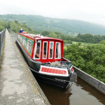 Narrowboating along the Llangollen Canal