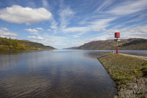 The Caledonian Canal meets Loch Ness. Picture Visit Scotland and Kenny Lam.