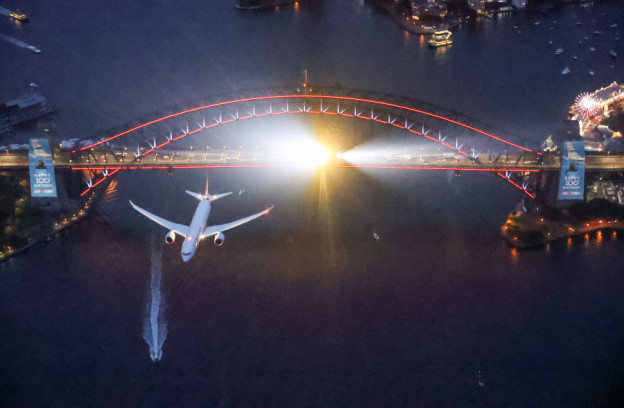 TravMedia United Kingdom 1426543 Image Sydney puts on a show for Qantas Centenary 4