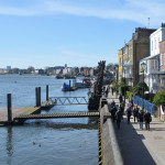 Walking the Thames Path from Chiswick to Hammersmith