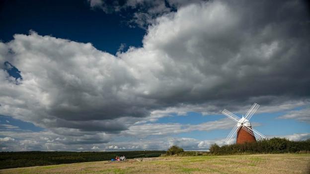 TravMedia United Kingdom 1440735 The Great Sussex Way Jon Nicholson TheGreatSussexWay Halnaker Windmill Jon Nicholson