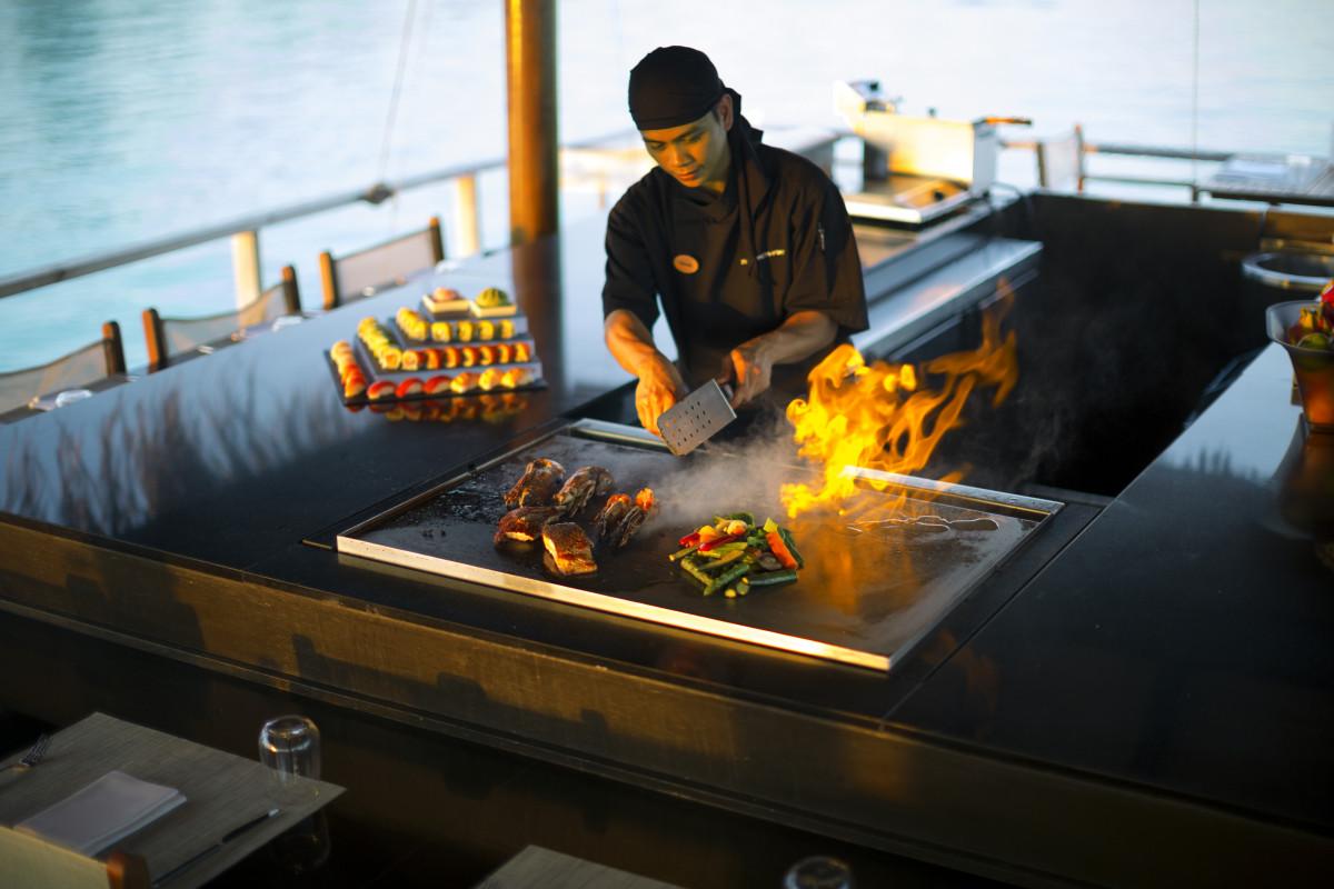teppanyaki showcase