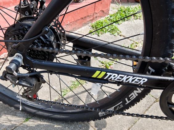 E Trends TREKKER rear wheel and motor