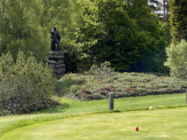 Balmoral Prince Albert Statue