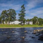 Banchory Lodge River view