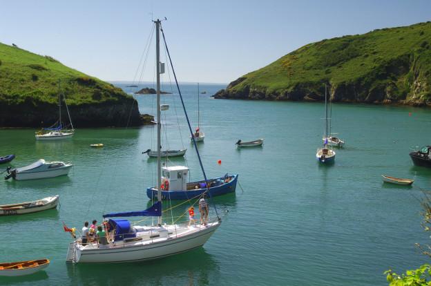 Pretty Solva harbour