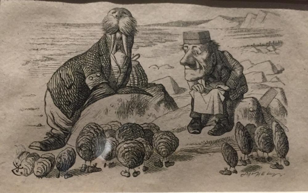 Walrus and the Carpenter by John Tennniel