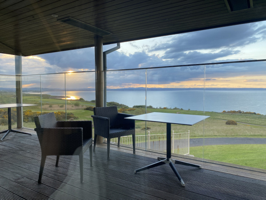 clubhouse deck St. Andrews