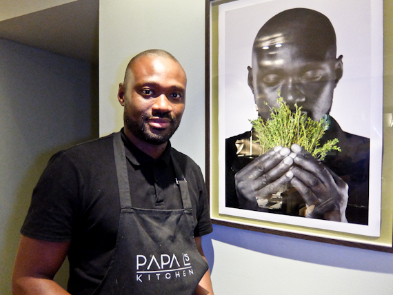 Chef Lawrence Gomez