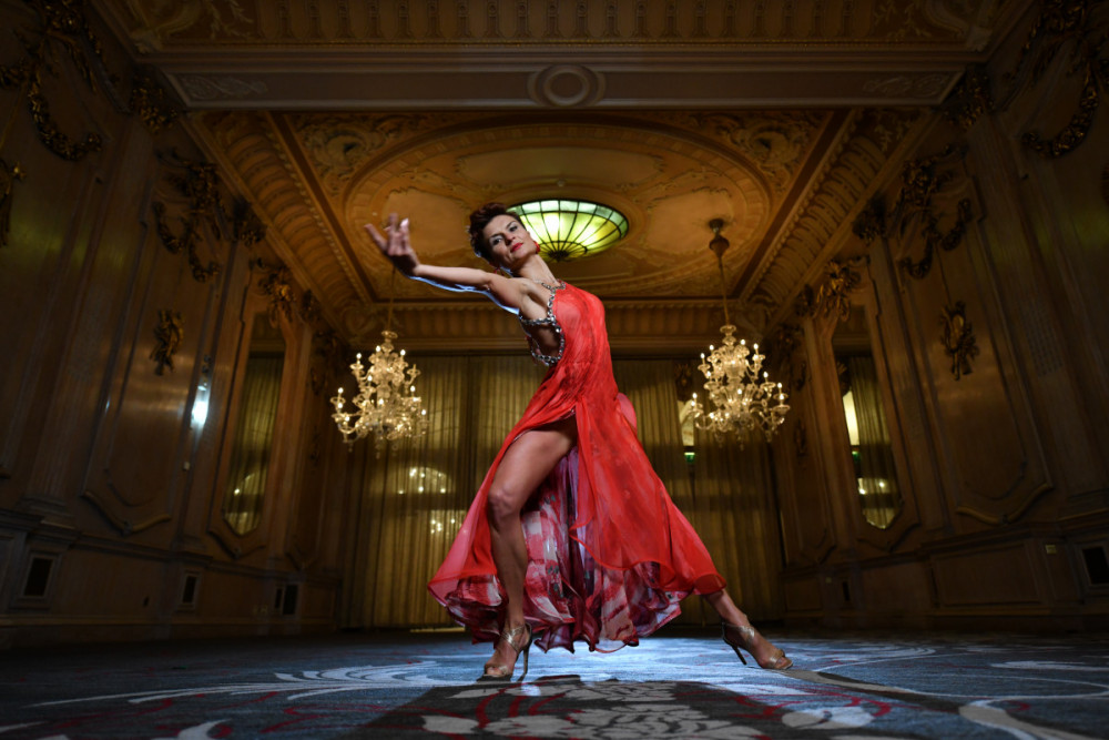 THE DILLY Dancer in the Oak Room banqueting suite