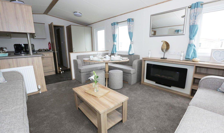 Away Resorts Luxury Caravan Interior 1