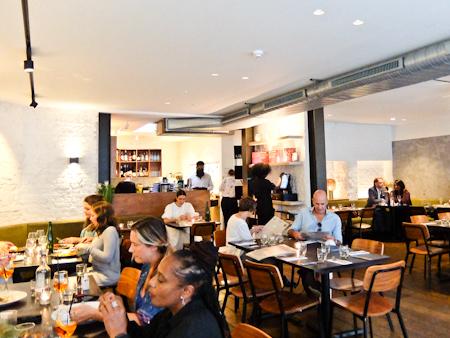 Gate Restaurant Interior
