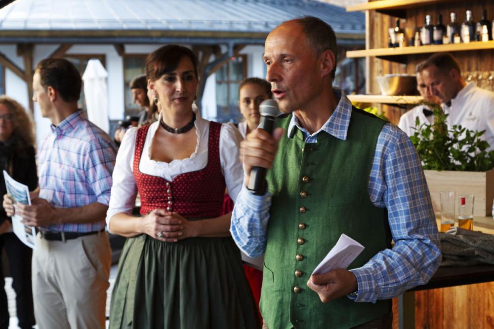 Leo Bauernberger Managing Director of SalzburgerLand Tourism in Zell am See