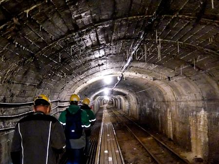 Mining Museum Undergroun Tunnel