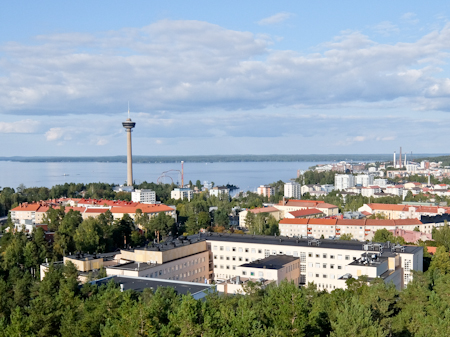 Tampere and Lake